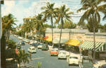Worth Avenue Palm Beach FL p26626 Cars of 50s
