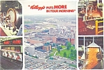 Click here to enlarge image and see more about item p2672: Kellogg Company Battle Creek MI Postcard p2672