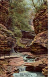 The Pools Watkins Glen NY Postcard p26773