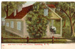 Click here to enlarge image and see more about item p26861: Birthplace of Stone Wall Jackson Clarksburg WV Postcard p26861