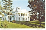 Rose Hill Mansion Geneva NY Postcard p2688