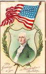 Click here to enlarge image and see more about item p26922: Greetings to You on Washington s Birthday p26922