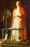 Click here to enlarge image and see more about item p26975: Pope Pius XII, Potters Wax Museum, St Augustine,Florida