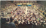 Billy Graham Crusade in the Coliseum Charlotte NC p26998