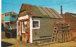 Click here to enlarge image and see more about item p27001: Typical Lobsterman's Shack