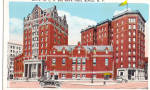 Click here to enlarge image and see more about item p27011: YMCA and Men's Hotel, Buffalo New York