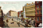 Click here to enlarge image and see more about item p27024: The Strand and Charing Cross Station