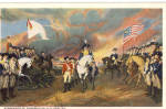 Click here to enlarge image and see more about item p27062: Surrender of Cornwallis Postcard p27062