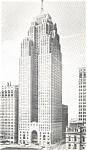 Click here to enlarge image and see more about item p2707: Penobscot Building Detroit MI  Postcard