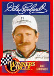 Click here to enlarge image and see more about item p27135: Dale Earnhardt Winner s Circle Card 1996 p27135