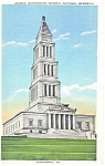 Click here to enlarge image and see more about item p2714: George Washington Masonic Memorial Postcard