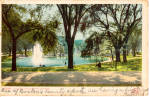 Click here to enlarge image and see more about item p27169: Frog Pond, Boston Common, Boston