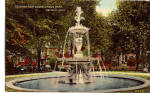 Click here to enlarge image and see more about item p27178: Fountain East Grand Circus Park Detroit MI p27178
