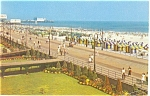 Click here to enlarge image and see more about item p2734: Atlantic City Boardwalk Postcard
