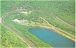 Click here to enlarge image and see more about item p2736: Altoona PA Horseshoe Curve Postcard