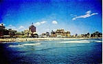 Click here to enlarge image and see more about item p2742: Atlantic City NJ Skyline Postcard