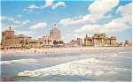 Click here to enlarge image and see more about item p2744: Atlantic City NJ Beach and Surf Postcard p2744