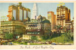 Click here to enlarge image and see more about item p27458: Downtown Sao Paulo Moore McCormick Postcard