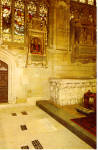 Click here to enlarge image and see more about item p27599: Grave of William Shakespeare and Monument p27599