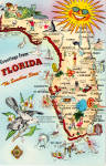 Click here to enlarge image and see more about item p27611: State Map of Florida p27611