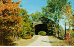 Click here to enlarge image and see more about item p27665: Hemlock Bridge Frysburg Maine Postcard p27665