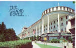 The Grand Hotel Mackinac Island Michigan Postcard p27673