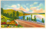 Click here to enlarge image and see more about item p27684: Rockefeller Drive Acadia National Park ME p27684