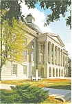 Click here to enlarge image and see more about item p2771: Jackson Mississippi Old Capitol Postcard p2771