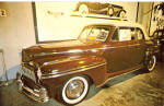 Click here to enlarge image and see more about item p27729: 1947 Mercury Convertible