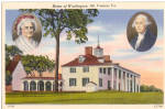Click here to enlarge image and see more about item p27766: Mt Vernon, Home of George Washington