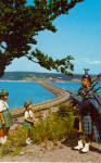 Click here to enlarge image and see more about item p27847: Canso Causeway Cape Breton Island Nova Scotia Canada p27847