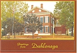 Click here to enlarge image and see more about item p2788: Dahlonega GA Gold Museum Postcard