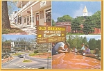Click here to enlarge image and see more about item p2789: Dahlonega GA Public Square Postcard