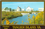 Canal Road, Tangier Island, Virginia