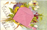 Click here to enlarge image and see more about item p28206: Vintage Novelty Envelope Card Sullivan, Illinois