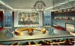 Click here to enlarge image and see more about item p28211: Security Council Chamber United Nations New York City NY p28211