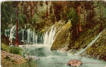 Click here to enlarge image and see more about item p28272: Mossbrae Falls California Postcard p28272