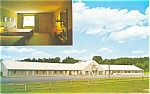 Peterborough Motor Inn NH Postcard p2829