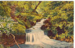 Click here to enlarge image and see more about item p28306: A Pennsylvania Waterfall