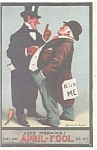 Click here to enlarge image and see more about item p2835: April Fool Postcard p2835