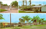 City Motel Arcadia Florida Postcard p28370