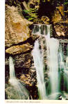 Click here to enlarge image and see more about item p28404: Paradise Falls, Lost River Gorge, North  Woodstock