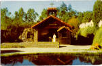 Click here to enlarge image and see more about item p28427: The Little Chapel by the Lake Knotts Postcard p28427