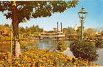 Click here to enlarge image and see more about item p28452: Sternwheeler Mark Twain in Frontierland Disneyland  p28452