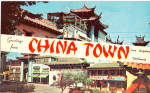 Click here to enlarge image and see more about item p28458: New China Town Los Angeles CA p28458