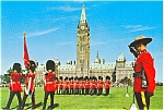 Click here to enlarge image and see more about item p2847: RCMP Changing of the Guard Canada Postcard p2847
