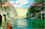Click here to enlarge image and see more about item p28488: Hoover Dam Postcard p28488
