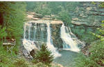 Blackwater Falls Davis West Virginia Postcard p28552