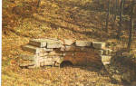 Click here to enlarge image and see more about item p28773: Stone Culvert Allegheny Portage Railroad PA p28773