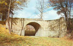 Click here to enlarge image and see more about item p28797: Skew Arch Bridge, Allegheny Portage Railroad